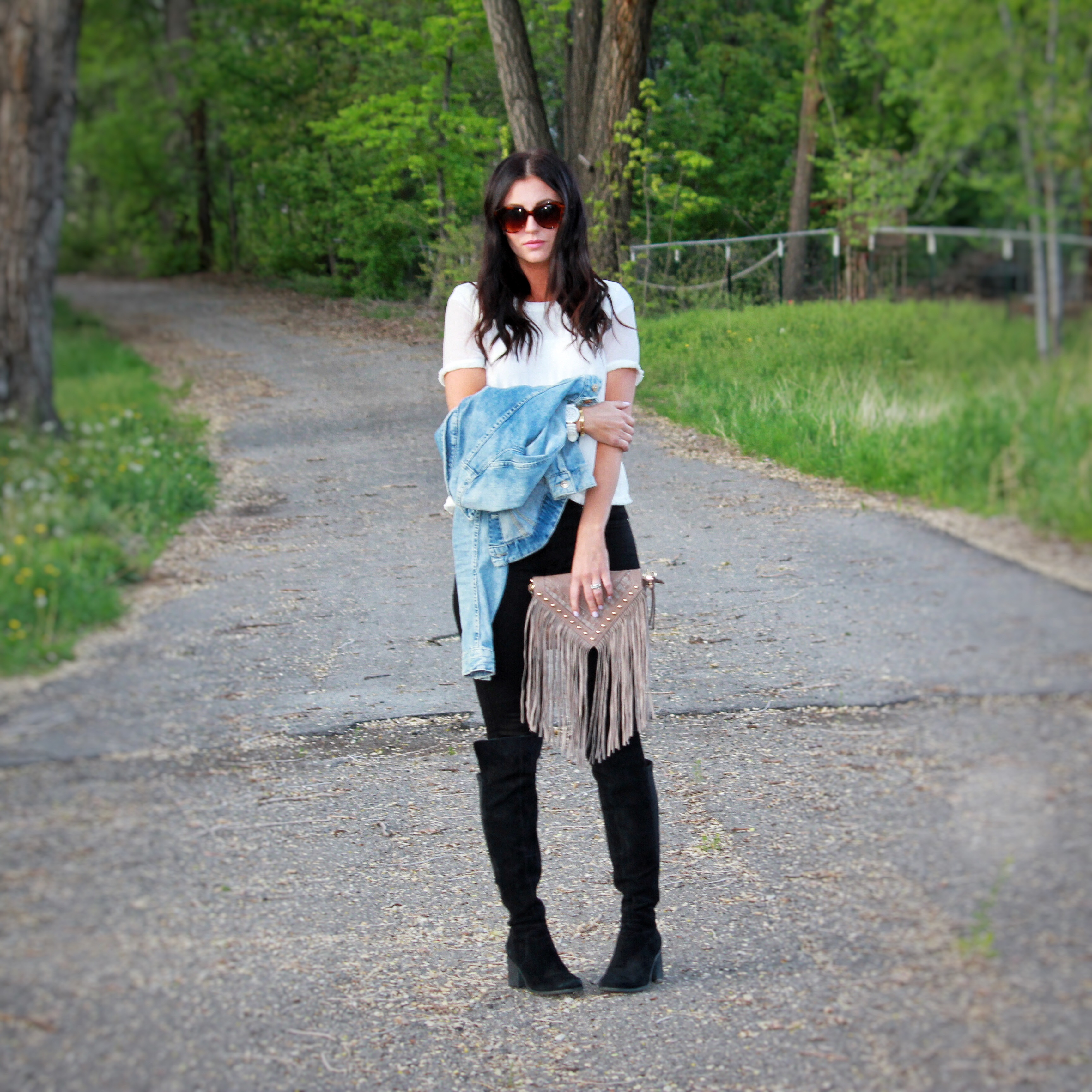 fringe and boots…