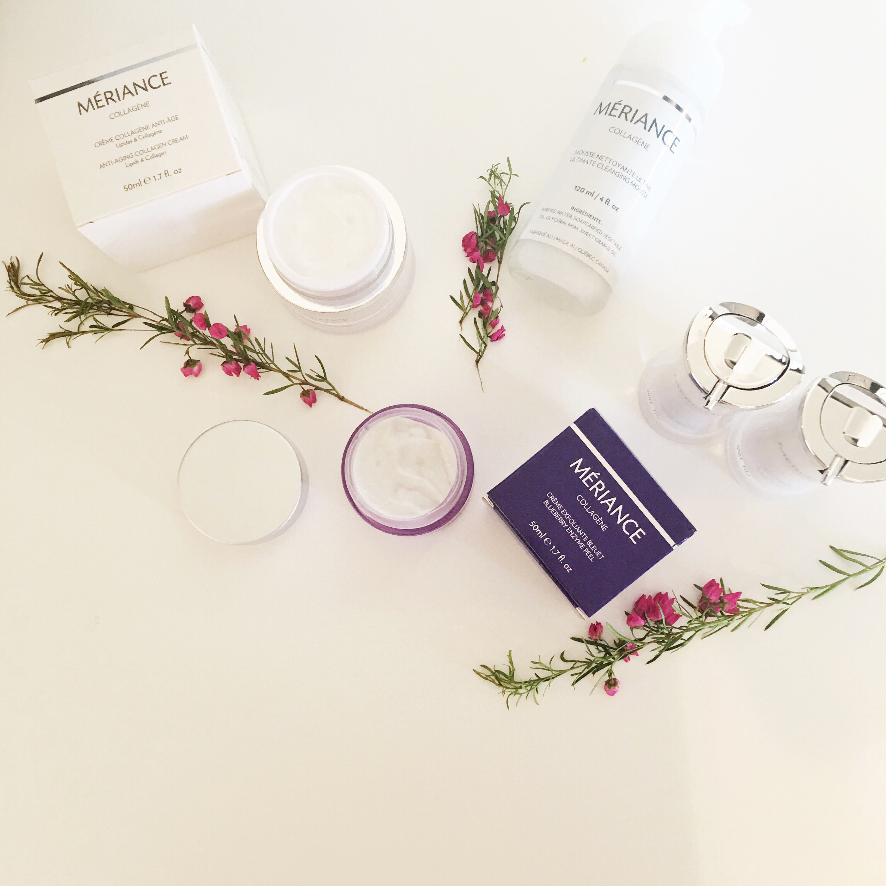 skincare with meriance…