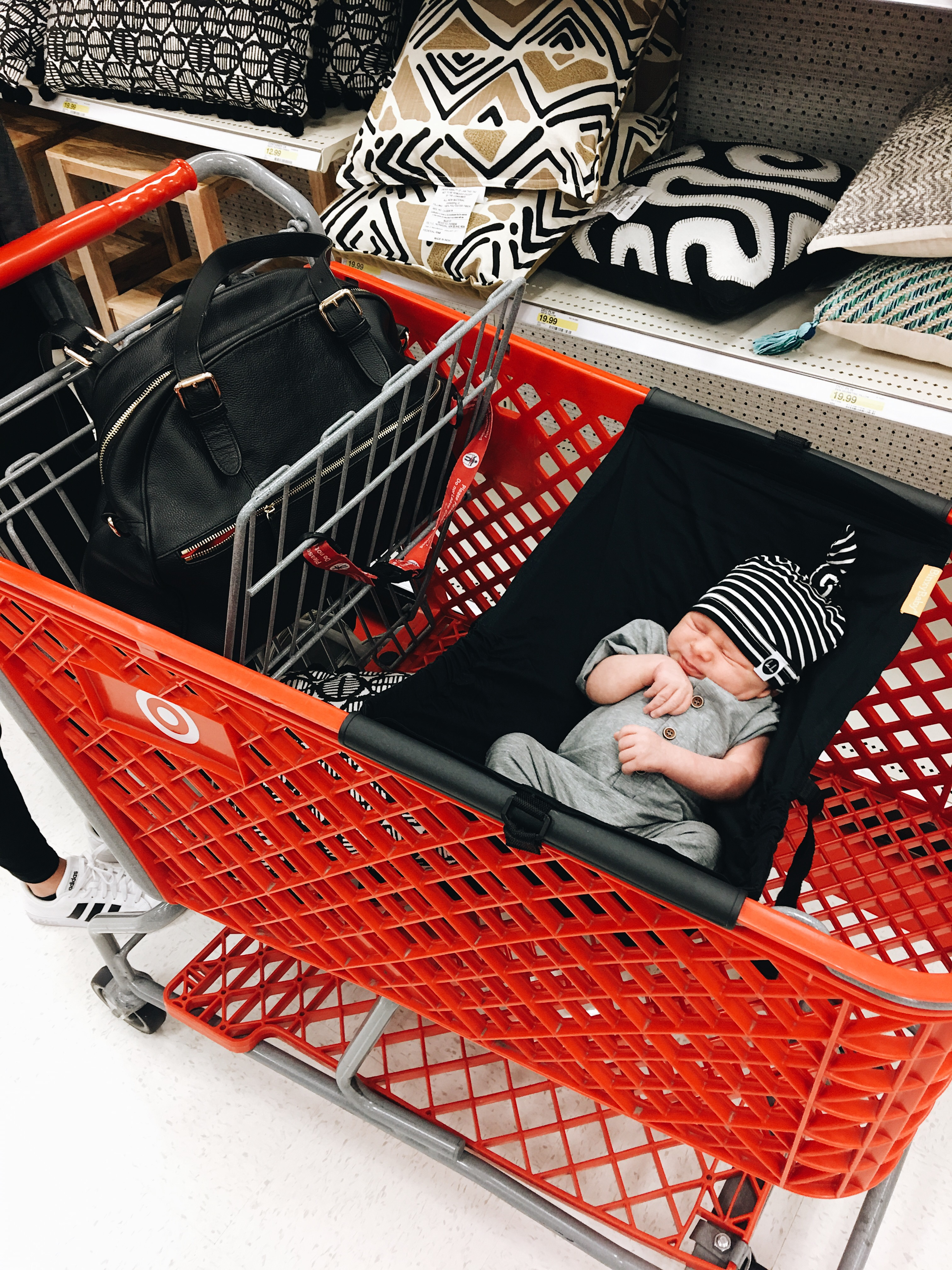 shopping with a baby…